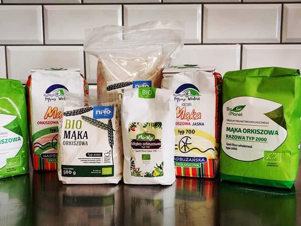BIO Makarony, kasze, ryże, mąki